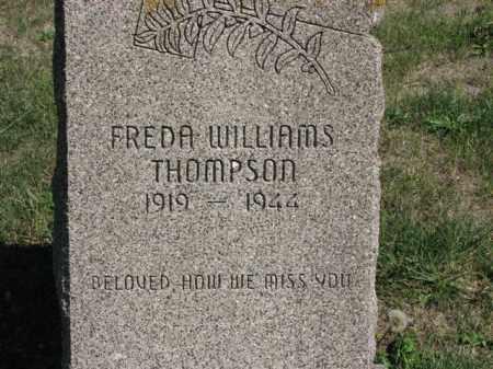 WILLIAMS THOMPSON, FREDA - Meigs County, Ohio   FREDA WILLIAMS THOMPSON - Ohio Gravestone Photos