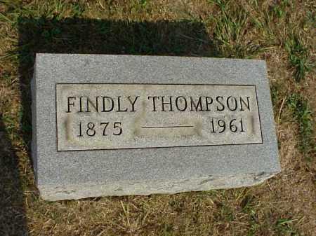 THOMPSON, FINDLY - Meigs County, Ohio | FINDLY THOMPSON - Ohio Gravestone Photos