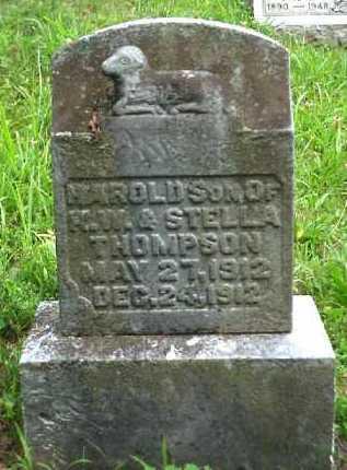THOMPSON, HAROLD - Meigs County, Ohio | HAROLD THOMPSON - Ohio Gravestone Photos