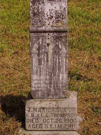 THOMPSON, JOSEPH MARION MONUMENT - Meigs County, Ohio | JOSEPH MARION MONUMENT THOMPSON - Ohio Gravestone Photos