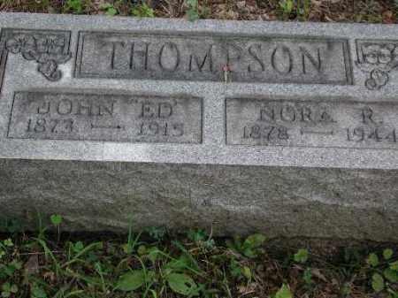 THOMPSON, NORA R. - Meigs County, Ohio | NORA R. THOMPSON - Ohio Gravestone Photos