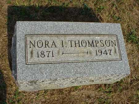 THOMPSON, NORA I. - Meigs County, Ohio   NORA I. THOMPSON - Ohio Gravestone Photos