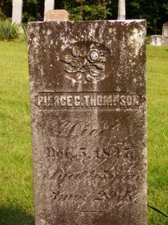 THOMPSON, PIERCE CLANCY - Meigs County, Ohio | PIERCE CLANCY THOMPSON - Ohio Gravestone Photos