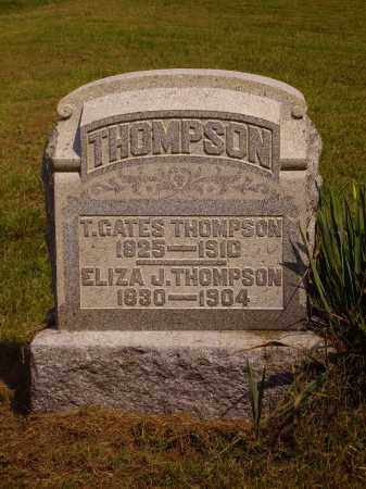 THOMPSON, THEOPHILUS GATES - Meigs County, Ohio | THEOPHILUS GATES THOMPSON - Ohio Gravestone Photos