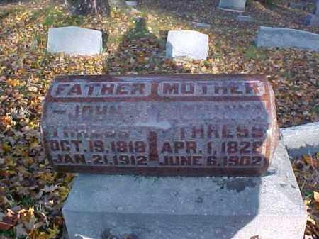 THRESS, JOHANNA - Meigs County, Ohio | JOHANNA THRESS - Ohio Gravestone Photos