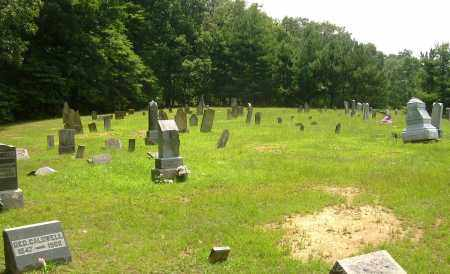 TIFFANY CEMETERY, OVERALL VIEW #2 - Meigs County, Ohio   OVERALL VIEW #2 TIFFANY CEMETERY - Ohio Gravestone Photos