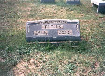 TITUS, EARL R. - Meigs County, Ohio | EARL R. TITUS - Ohio Gravestone Photos