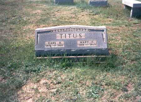 TITUS, MARY C - Meigs County, Ohio | MARY C TITUS - Ohio Gravestone Photos