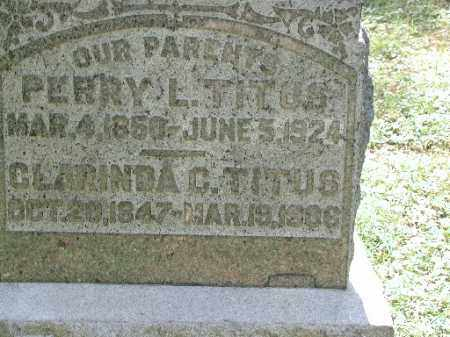 TITUS, CLARINDA C. - Meigs County, Ohio | CLARINDA C. TITUS - Ohio Gravestone Photos