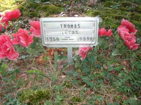 TITUS, THOMAS - Meigs County, Ohio   THOMAS TITUS - Ohio Gravestone Photos