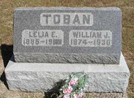 TOBAN, LELIA E. - Meigs County, Ohio | LELIA E. TOBAN - Ohio Gravestone Photos