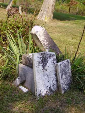 TOMBSTONES, PILED - Meigs County, Ohio | PILED TOMBSTONES - Ohio Gravestone Photos