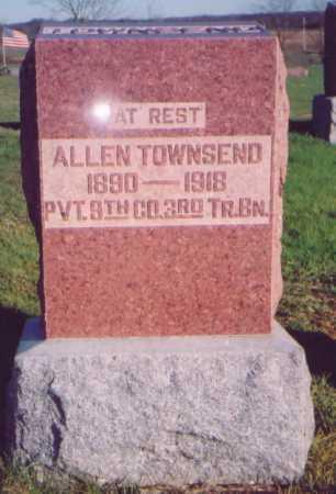 TOWNSEND, ALLEN - Meigs County, Ohio   ALLEN TOWNSEND - Ohio Gravestone Photos