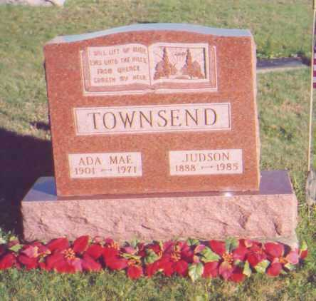 QUEEN TOWNSEND, ADA MAE - Meigs County, Ohio | ADA MAE QUEEN TOWNSEND - Ohio Gravestone Photos