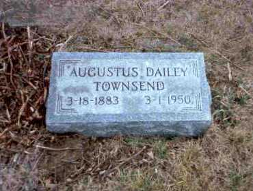 TOWNSEND, AUGUSTUS DAILEY - Meigs County, Ohio | AUGUSTUS DAILEY TOWNSEND - Ohio Gravestone Photos