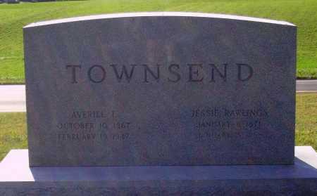 RAWLINGS TOWNSEND, JESSIE - Meigs County, Ohio | JESSIE RAWLINGS TOWNSEND - Ohio Gravestone Photos