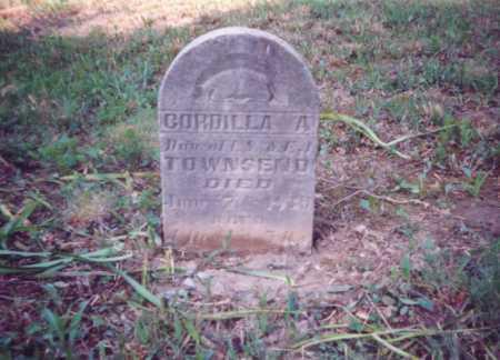 TOWNSEND, CORDILLA A. - Meigs County, Ohio | CORDILLA A. TOWNSEND - Ohio Gravestone Photos