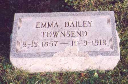 DAILEY TOWNSEND, EMMA - Meigs County, Ohio | EMMA DAILEY TOWNSEND - Ohio Gravestone Photos