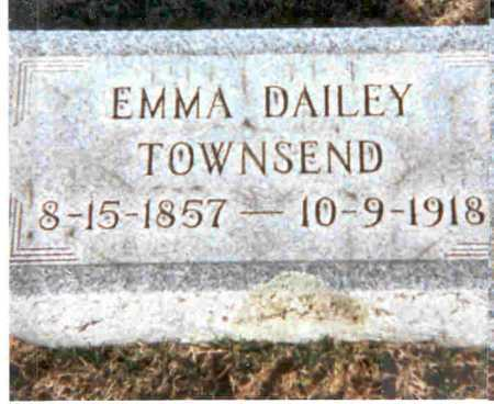 TOWNSEND, EMMA - Meigs County, Ohio   EMMA TOWNSEND - Ohio Gravestone Photos