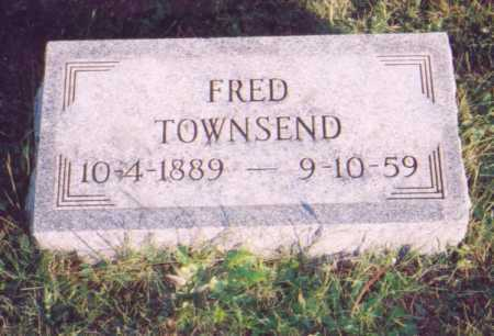 TOWNSEND, FRED - Meigs County, Ohio | FRED TOWNSEND - Ohio Gravestone Photos