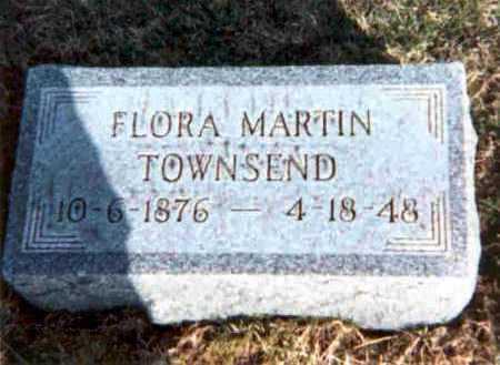 TOWNSEND, FLORA - Meigs County, Ohio | FLORA TOWNSEND - Ohio Gravestone Photos
