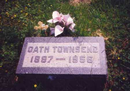 TOWNSEND, GATH - Meigs County, Ohio | GATH TOWNSEND - Ohio Gravestone Photos
