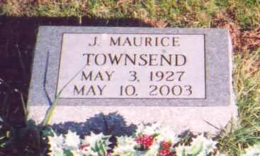 TOWNSEND, J. MAURICE - Meigs County, Ohio | J. MAURICE TOWNSEND - Ohio Gravestone Photos