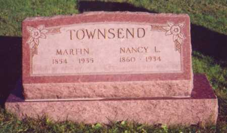 MOORE TOWNSEND, NANCY LOU - Meigs County, Ohio | NANCY LOU MOORE TOWNSEND - Ohio Gravestone Photos