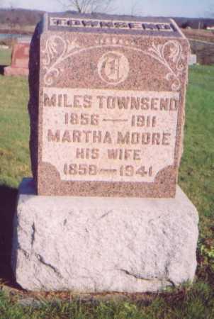MOORE TOWNSEND, MARTHA - Meigs County, Ohio   MARTHA MOORE TOWNSEND - Ohio Gravestone Photos