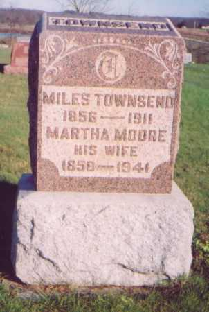 TOWNSEND, MILES - Meigs County, Ohio | MILES TOWNSEND - Ohio Gravestone Photos