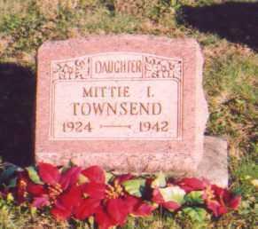 TOWNSEND, MITTIE I. - Meigs County, Ohio | MITTIE I. TOWNSEND - Ohio Gravestone Photos