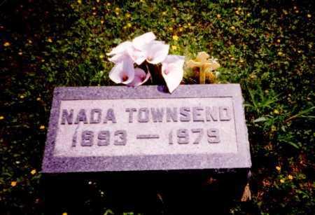 TOWNSEND, NADA - Meigs County, Ohio | NADA TOWNSEND - Ohio Gravestone Photos