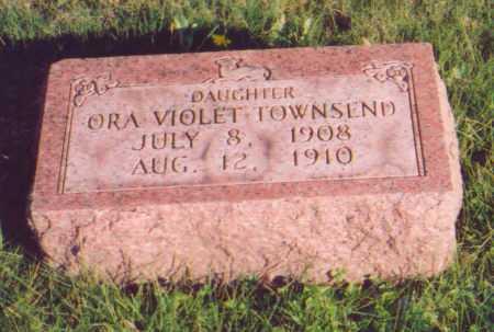 TOWNSEND, ORA VIOLET - Meigs County, Ohio | ORA VIOLET TOWNSEND - Ohio Gravestone Photos