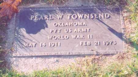 TOWNSEND, PEARL W.    (MILITARY) - Meigs County, Ohio | PEARL W.    (MILITARY) TOWNSEND - Ohio Gravestone Photos