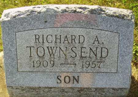 TOWNSEND, RICHARD A. - Meigs County, Ohio | RICHARD A. TOWNSEND - Ohio Gravestone Photos