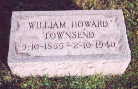 TOWNSEND, WILLIAM HOWARD - Meigs County, Ohio   WILLIAM HOWARD TOWNSEND - Ohio Gravestone Photos