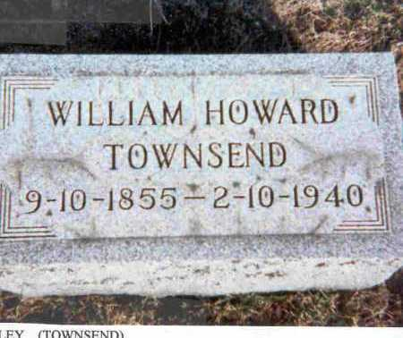 TOWNSEND, WILLIAM HOWARD - Meigs County, Ohio | WILLIAM HOWARD TOWNSEND - Ohio Gravestone Photos