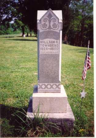 TOWNSEND, WILLIAM R. - Meigs County, Ohio   WILLIAM R. TOWNSEND - Ohio Gravestone Photos