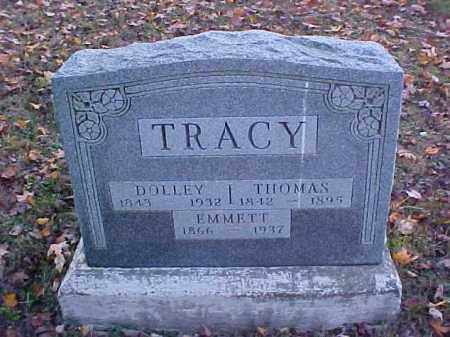 TRACY, DOLLEY - Meigs County, Ohio | DOLLEY TRACY - Ohio Gravestone Photos