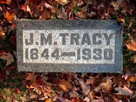 TRACY, J.[JAMES]M. - Meigs County, Ohio | J.[JAMES]M. TRACY - Ohio Gravestone Photos
