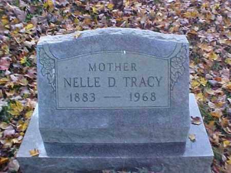 TRACY, NELLE D. - Meigs County, Ohio   NELLE D. TRACY - Ohio Gravestone Photos