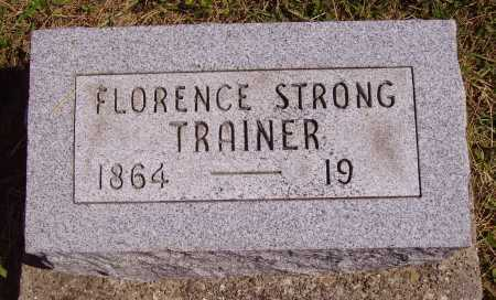 STRONG, FLORENCE - Meigs County, Ohio | FLORENCE STRONG - Ohio Gravestone Photos