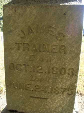 TRAINER, JAMES - Meigs County, Ohio | JAMES TRAINER - Ohio Gravestone Photos