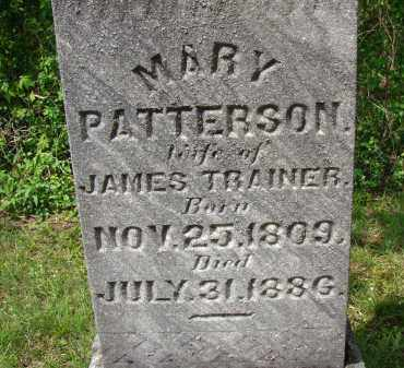 PATTERSON TRAINER, MARY - Meigs County, Ohio | MARY PATTERSON TRAINER - Ohio Gravestone Photos