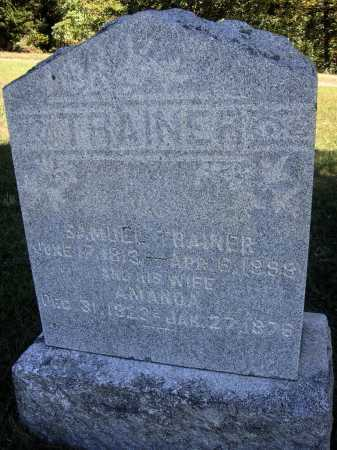 TRAINER, AMANDA - OVERALL VIEW - Meigs County, Ohio | AMANDA - OVERALL VIEW TRAINER - Ohio Gravestone Photos