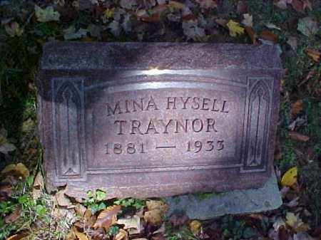 HYSELL TRAYNOR, MINA - Meigs County, Ohio | MINA HYSELL TRAYNOR - Ohio Gravestone Photos