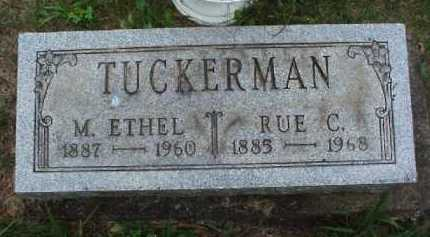 TUCKERMAN, M. ETHEL - Meigs County, Ohio | M. ETHEL TUCKERMAN - Ohio Gravestone Photos