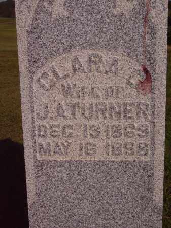 TURNER, CLARA - CLOSEVIEW - Meigs County, Ohio | CLARA - CLOSEVIEW TURNER - Ohio Gravestone Photos