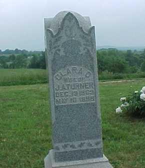 TURNER, CLARA D. - Meigs County, Ohio | CLARA D. TURNER - Ohio Gravestone Photos
