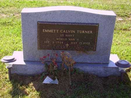 TURNER, EMMETT CALVIN - MILITARY - Meigs County, Ohio | EMMETT CALVIN - MILITARY TURNER - Ohio Gravestone Photos